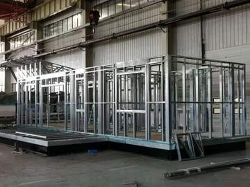 Prefabricated Materials: TPF Prefabricated LGS Structure Panels