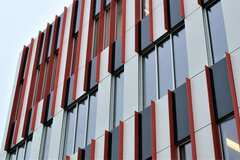 Prefabricated Materials: Fundermax Compact Panel System