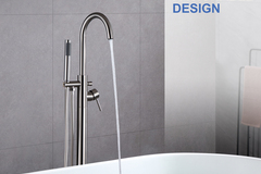 Materials and Products: Rainlex Modern Style Freestanding Bathtub Filler Faucet