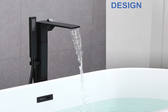 Materials and Products: Rainlex Freestanding Bathtub Filler Faucet Floor Mount 04 MB