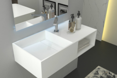 Materials and Products: Wall Hung Sink