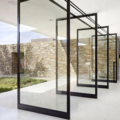 Prefabricated Materials: Wallshell Pivot Door